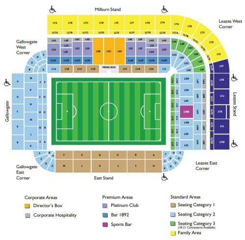 Billetter Newcastle og fotballreiser