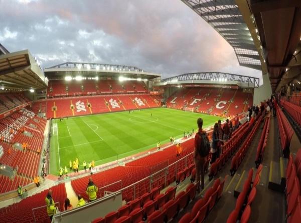 fotballtur Liverpool