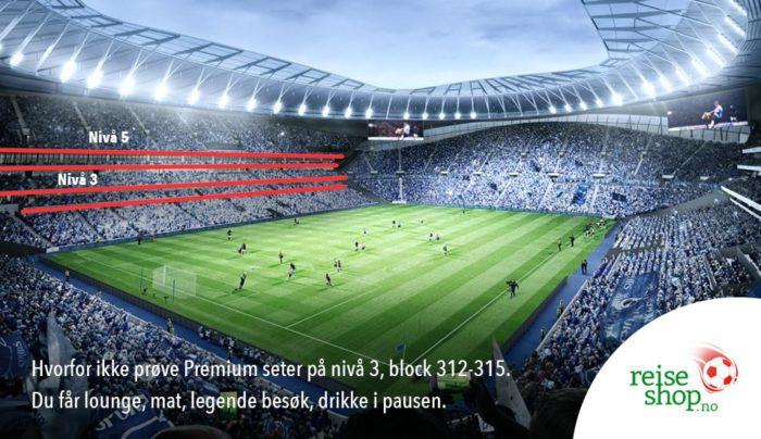 Fotballtur Tottenham stadion